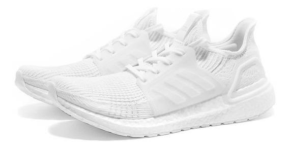 Tenis adidas Ultra Boost 19 Cinza Ou Branco Corrida Academia