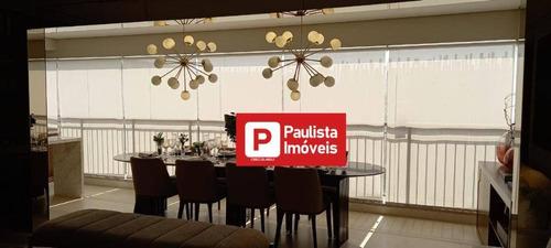Apartamento Com 3 Dormitórios À Venda, 113 M² Por R$ 904.000,00 - Santo Amaro - São Paulo/sp - Ap30608