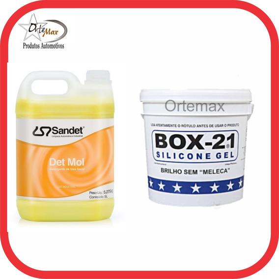 Det Mol Shampoo Sandet Mol 1x100 + Silicone Box 21 3,2 Kgs