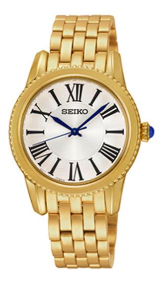 Relógio Seiko Feminino Srz440b1 Diâmetro 32mm