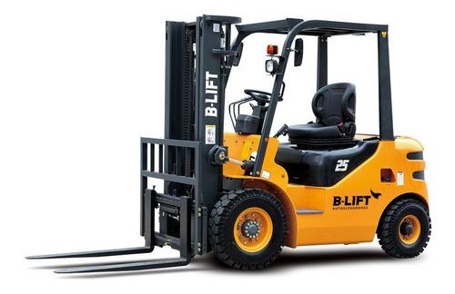 Autoelevador Diesel 2,5 Ton 0 Km B-lift Anticipo + Financ