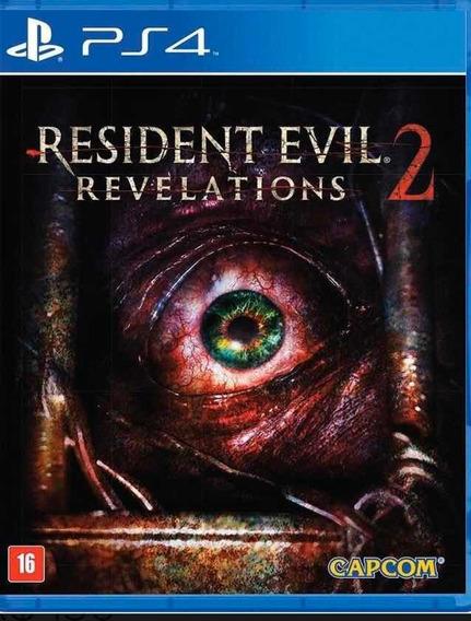 Resident Evil Revelations 2 - Ps4 - Física - Lacrado