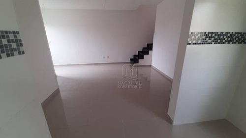 Cobertura Com 2 Dormitórios À Venda, 106 M² Por R$ 370.000,00 - Vila Metalúrgica - Santo André/sp - Co4047