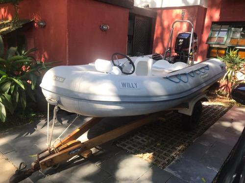 Bote Flexboatsr12, Ano 2006.01xmercury 50hp Marina Atlântica