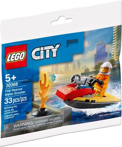 Lego® City Fire Rescue Moto De Agua Rescate Incendios 30368