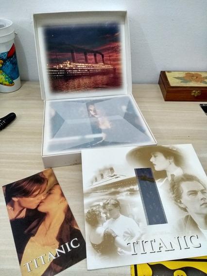 Edição Limitada Titanic (vhs)Box Incluindo Duas Fitas Vhs