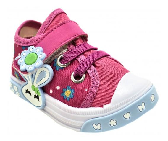 Tênis Infantil Feminino Coelhinho Botinho Fashion Kids 840da