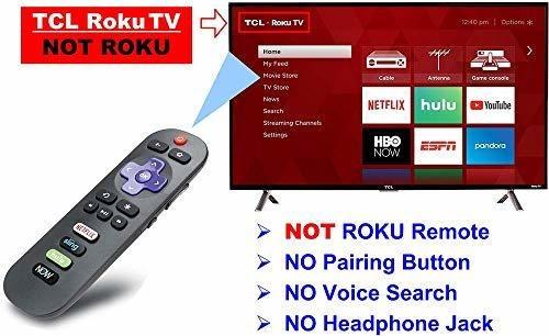 Para Tcl Iku Reemplazo Remoto Roku Tv Acceso Directo