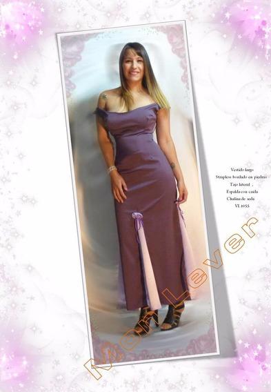 Vestido Georgette ,elastizado Muy Sensual