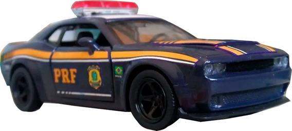 Miniatura Viatura Dodge Challenge Prf Rodoviária Federal