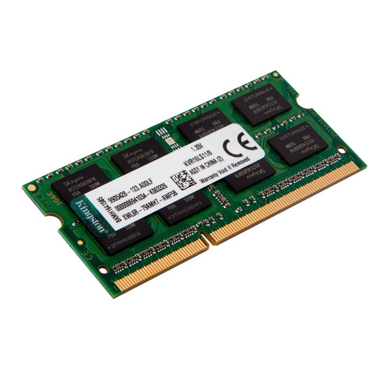 Memória Ram Kingston Para Clevo W970suy (i5/i7) 4gb