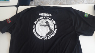 Camisa Preta Treinavil Tamanho G