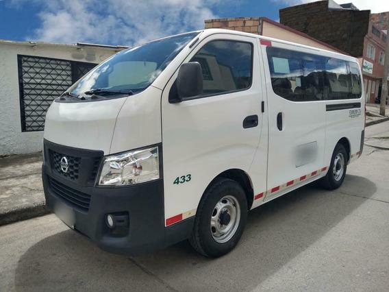 Nissan Urvan, Motor 2.488, 2014. Blanca, 5 Puertas.
