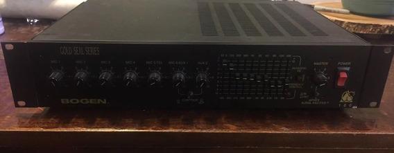 Amplificador Bogen Gs100 Profesional 400 Watts Tipo Potencia