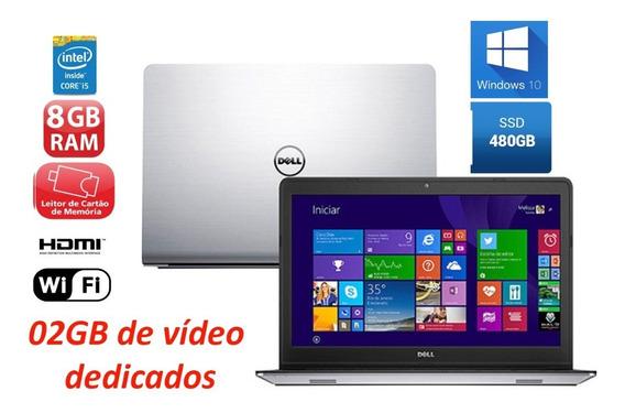 Notebook Gamer Dell I5 8gb Ssd 480gb 2gb Video Dedicado Full