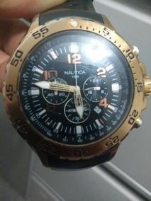 Relogio Nautica Masculino N18523g Preto E Durado