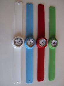 4 Relógios De Festa, Silicone, Esportivo 120,00 Frete Grátis