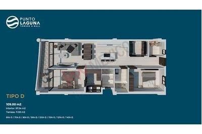 Condo Suite Tipo E #1305 Con Vista Al Mar En Punto Laguna