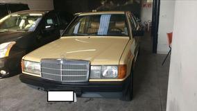 Mercedes-benz 190 E 1.8 Sedan 8v Gasolina 1983