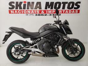 Kawasaki Er 6n 2012 Preta - Abs - Km 29 000