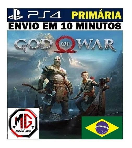 God Of War Ps4 | God Of War 4 Gow Ps4 - Original 1 - Dublado