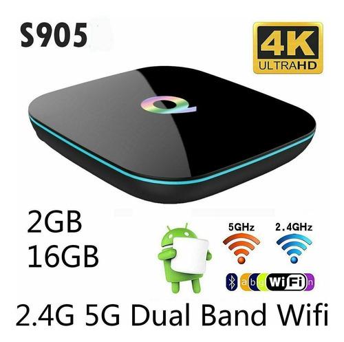 Android 5.1 Smart Box S905 Quad Core 2gb + 16gb Wifi 4k