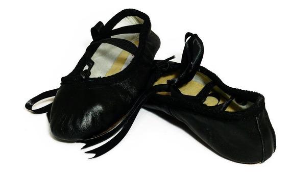 Ballet Medias Puntas Zapatillas De Piel 15 Al 28