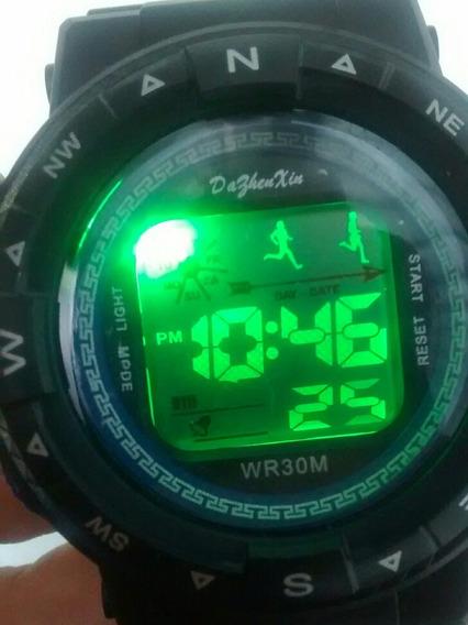 Relógio Esportivo R-shock Led Alarme Cronômetro Barato