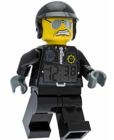 The Lego Movie Bad Cop Despertador Jugue Diego Vez