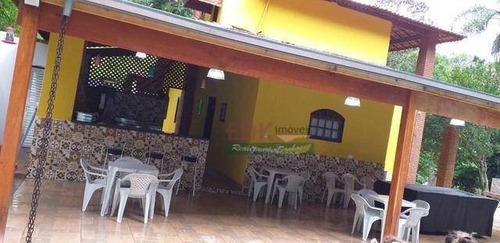 Imagem 1 de 20 de Chácara Com 2 Dormitórios À Venda, 3800 M² Por R$ 510.000,00 - Recanto Alpina - Santa Isabel/sp - Ch0621