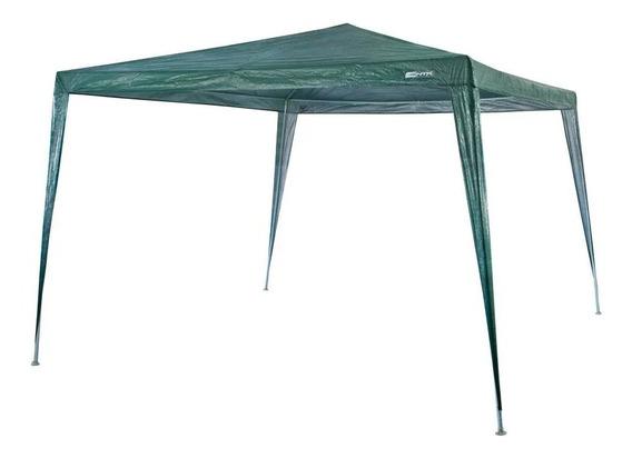 Gazebo Tenda 3x3m Impermeável Green Ntk Praia Férias Verão