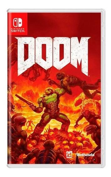 Doom Nintendo Switch Mídia Física Usado