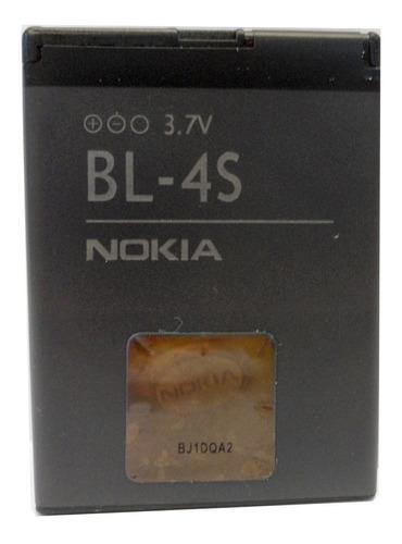 Imagen 1 de 8 de Bateria Nokia Original Bl-4s 7100 X3-02 860mah (2011) E2061