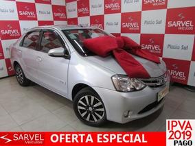 Toyota Etios Sedan Platinum 1.5 16v Flex, Pam0857