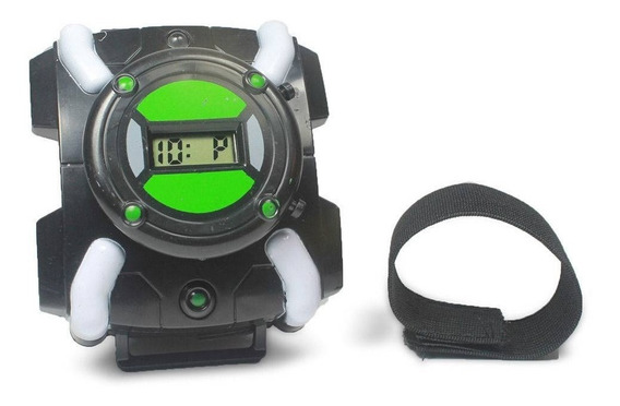 Relógio Ben10 Horas Digital Com Luz E Som Omnitrix Omniverse