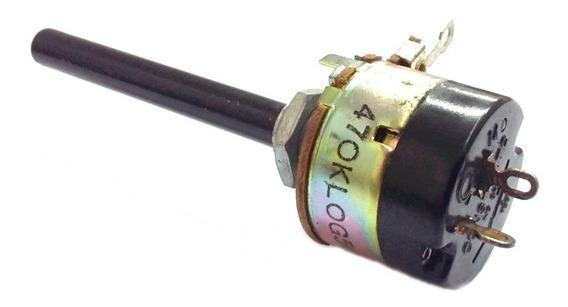 10 X Potenciômetro 470k C/chave Simples Constanta Log