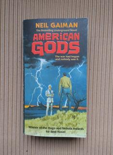 Libro American Gods Neil Gaiman En Ingles