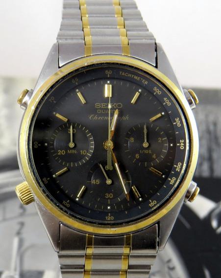 James Bond Golden Seiko Cronografo 7a28-7020 Antigo Coleção