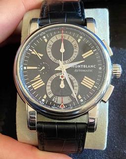 Reloj Montblanc Meisterstüch Automático Cronógrafo Usado