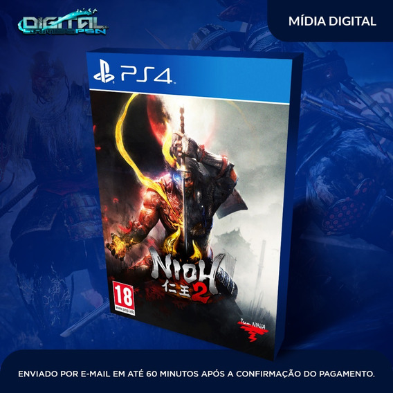 Nioh 2 Ps4 Psn Digital Original Completo Envio Imediato!