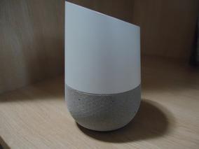 Google Home Voice Alto Falante Inteligente - Mostruário - Cl