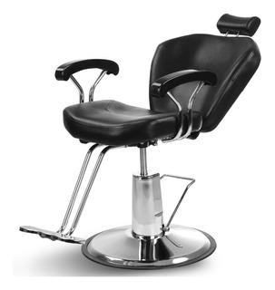 Silla De Barberia Sillon Barbero Sofa Peluqueria Estetica Reclinable Spa Beat