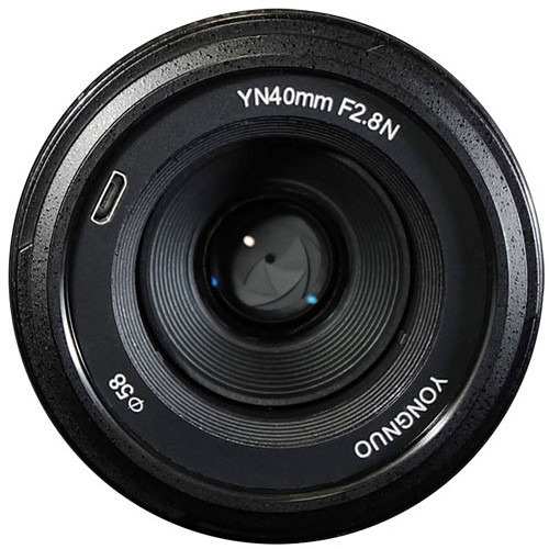 Lente Yongnuo 40mm F/2.8 - Nikon