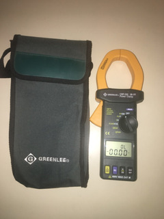 Greenlee Medidor De Potencia Con Pinza 2000 A Modelo Cmp-200