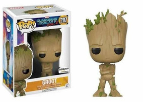 Funko Pop Groot Adolescent 207 Raro Exclusivo Amazon