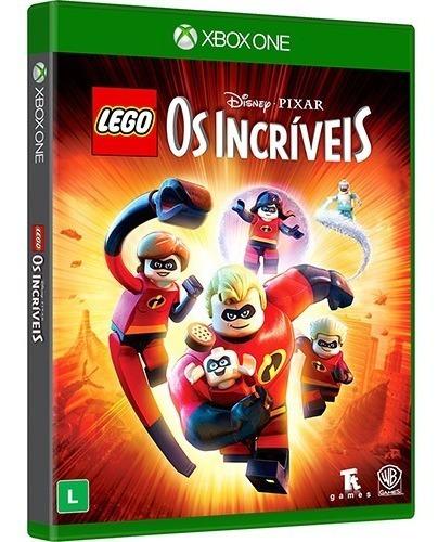 Jogo Lego Incriveis Xbox One Midia Física Original Infantil