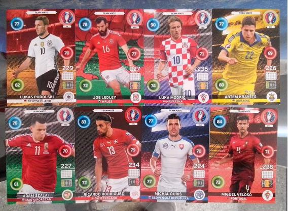 Cards Da Euro 2016 Ed Panini