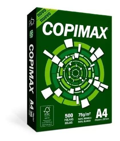 Papel Sulfite Copimax Bco 500 Fls