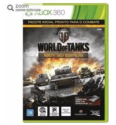 Game World Of Tanks - Xbox 360