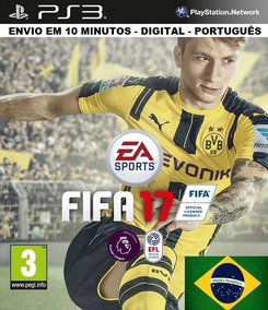 Fifa 17 Fifa 2017 Ps3 Psn Digital Português